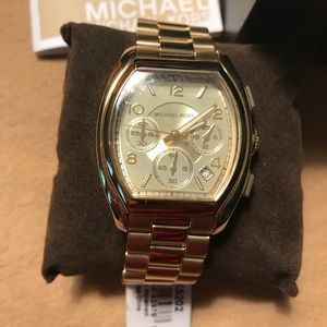 💝 Sale - Michael Kors Chronograph Gold Watch